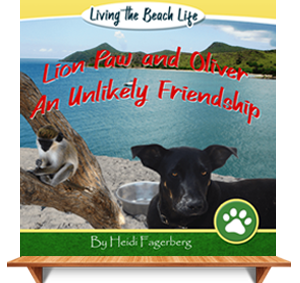Cover Photo for Lion Paw and Oliver Children's Book