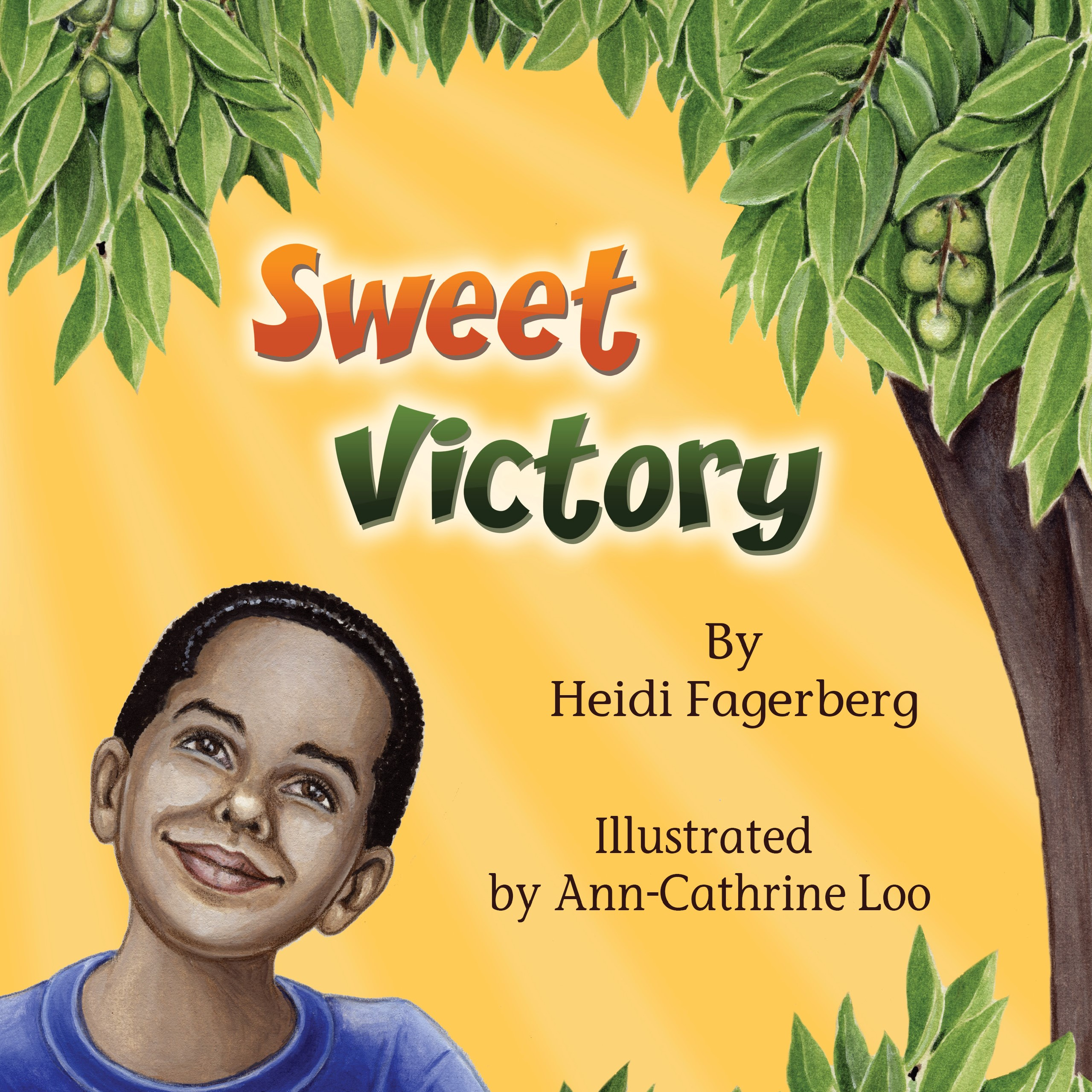 Cover Page for Sweet Victory Children's Book